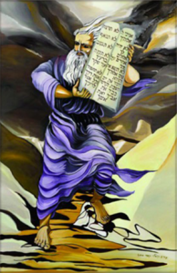 Moses and the Tablets of the Covenant