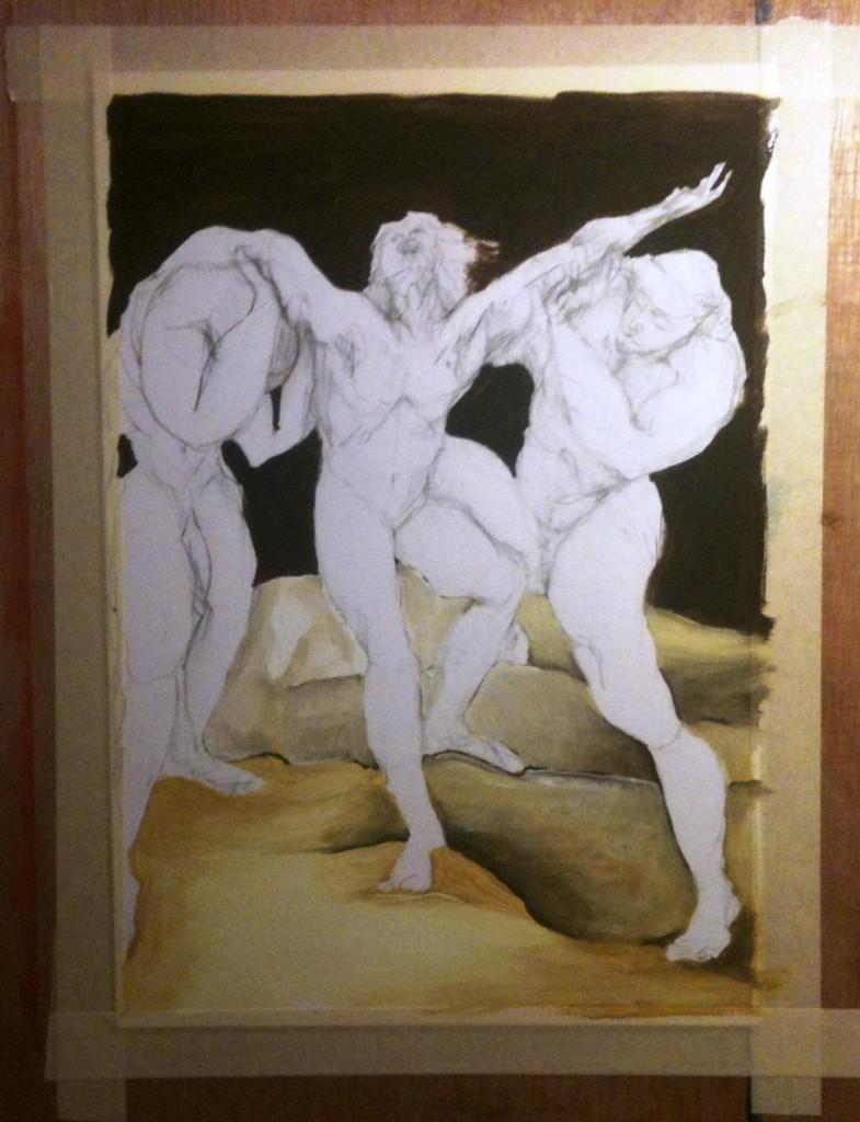 ציור על קנבס 2